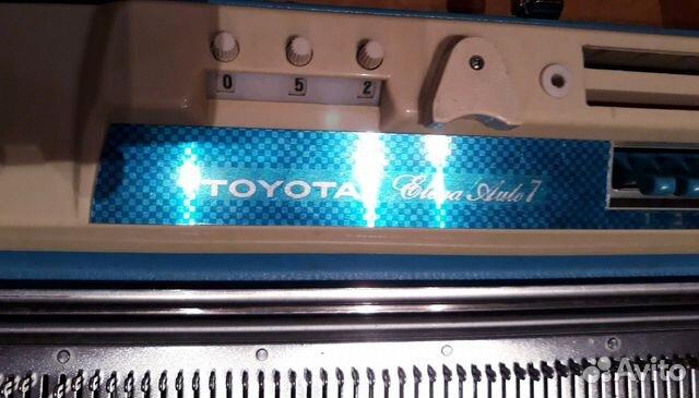 Toyota Elena Avto 7 (KS747) вязальная машинка