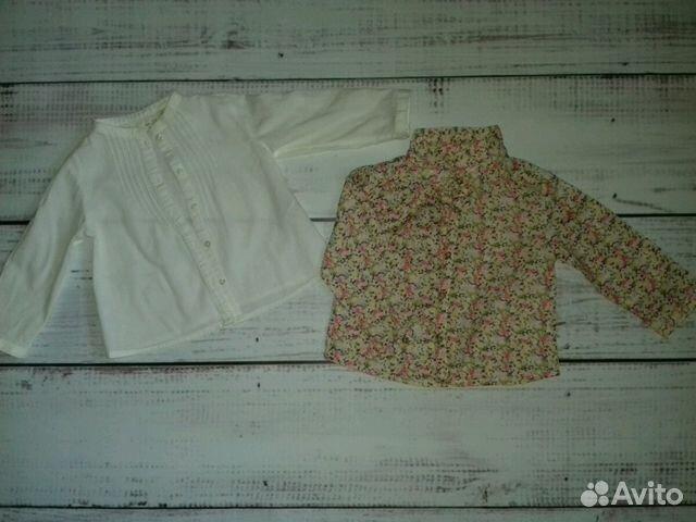 Рубашки Zara baby 9-12 мес 89231409967 купить 1