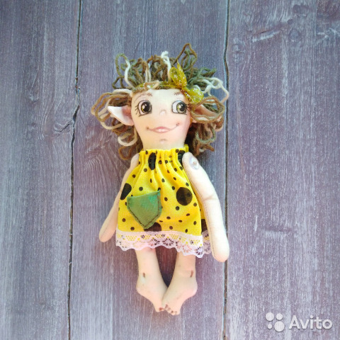 Кукла Эльфочка интерьерная 89617020393 купить 3