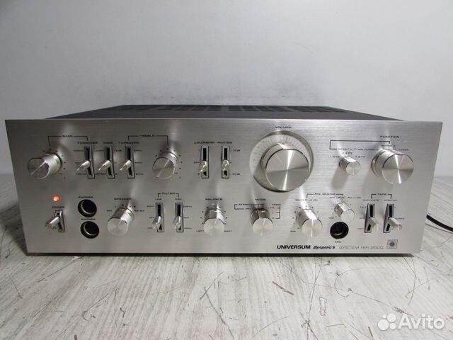 Universum V3297 Стерео Усилитель Germany 88129885308 купить 1