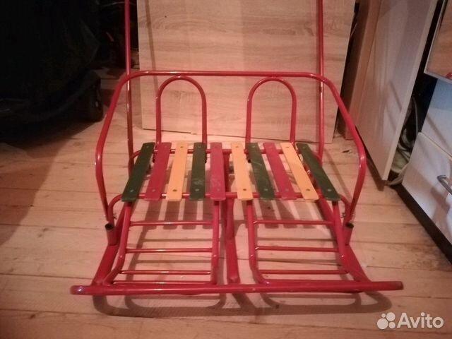 Twin sledge disto measure
