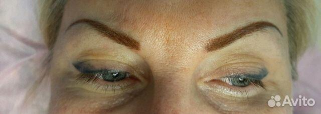 Перманентный макияж бровей, губ и межресничка 89624024938 купить 4