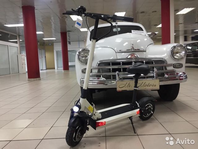Joyor Y5S 48V 13000 mAh white купить в Москве на Avito