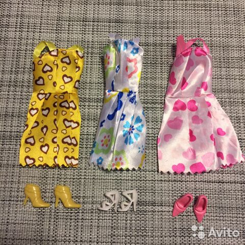 570b8b1f2fd6c Одежда+обувь для кукол Барби купить в Санкт-Петербурге на Avito ...