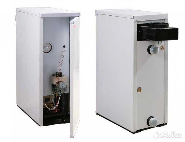 Котел газовый напольный ривнетерм 48