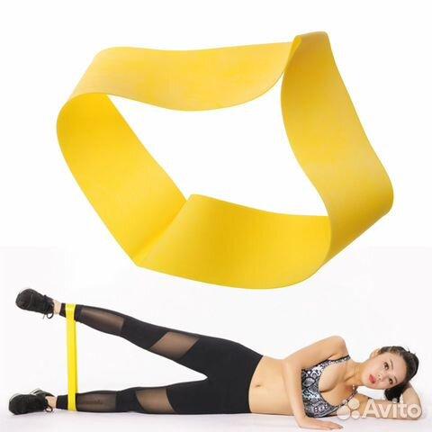 84942303606 Резинка для фитнеса № 3 желтай