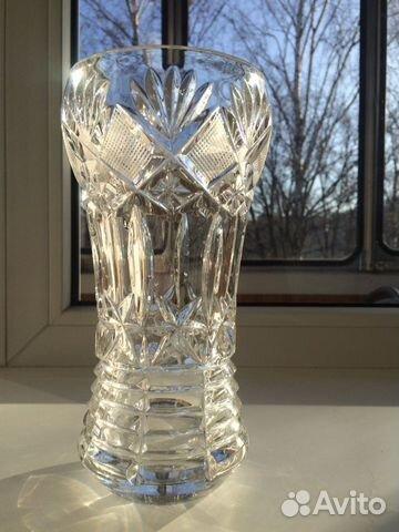 Хрустальная ваза для цветов 89378714930 купить 3