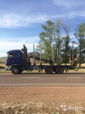Лесовоз Scania R164