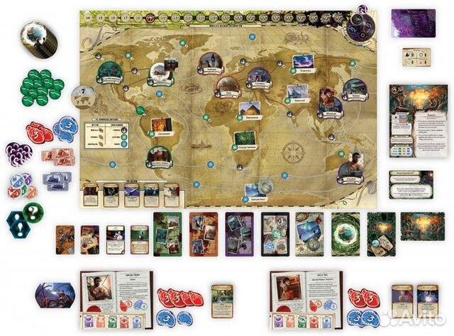 Настольная игра Древний Ужас  89045827115 купить 3