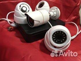 Видеонаблюдение-комплект готовый к установке