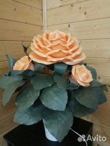 Кустик розы - ночник 89087396991 купить 1