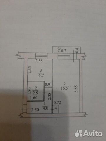1-к квартира, 31 м², 4/5 эт. 89176507156 купить 1