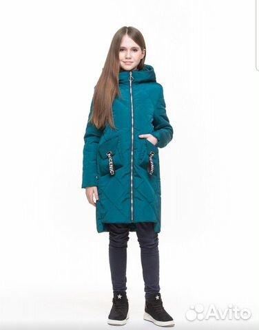 Демисезонное пальто 152-158 89206265449 купить 1