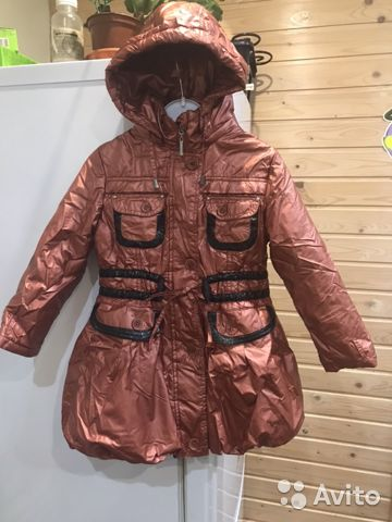 Spring coat for girls growth of 110