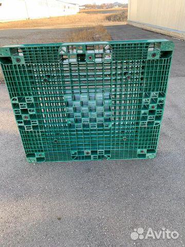 Sold plastic pallets