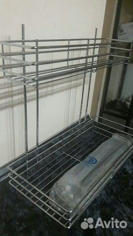 Двухярусная корзина для кухонного гарнитура