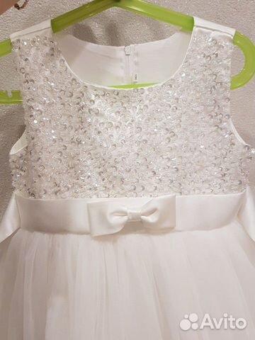 Платье белое пышное  89118569996 купить 2