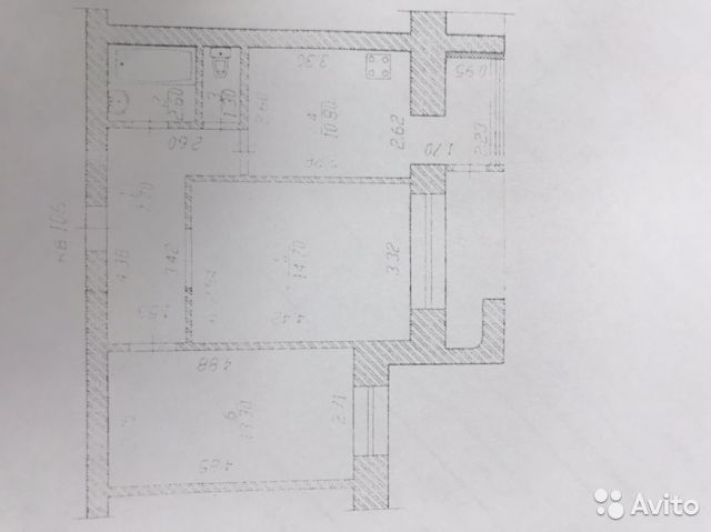 2-к квартира, 51 м², 4/9 эт. 89877354792 купить 1