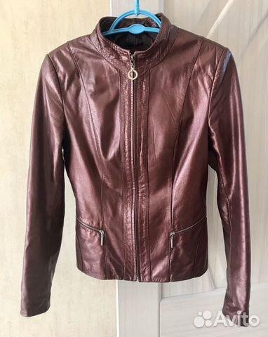 Куртка натуральная кожа жакет  89097870553 купить 1
