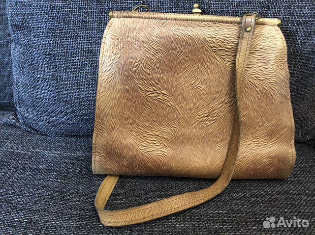 1981 г. Винтажная кожаная сумка  89114325227 купить 2
