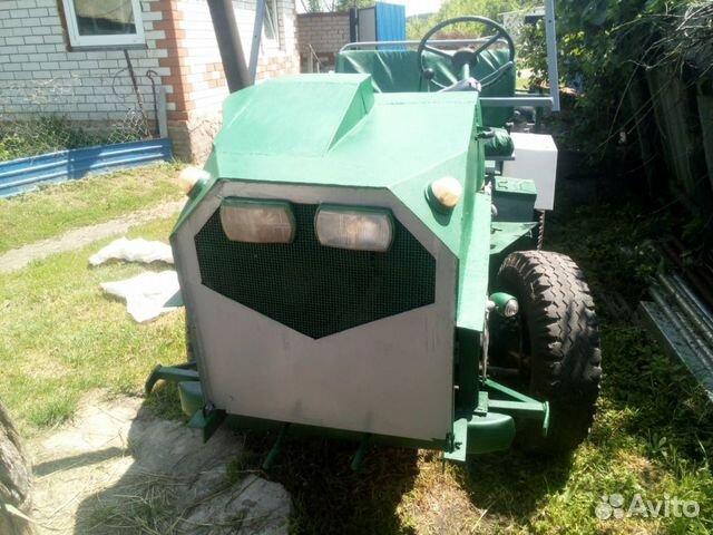 Самодельный трактор двух мостовый с гидравликой