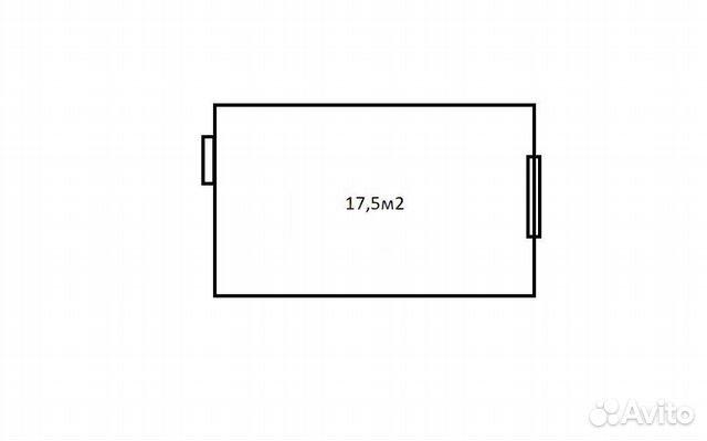 Комната 17.3 м² в 1-к, 2/9 эт. 89611054318 купить 6