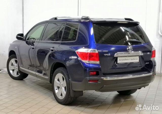 Toyota Highlander, 2013 купить 2