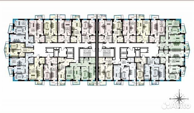 2-к квартира, 57.9 м², 15/26 эт. купить 10