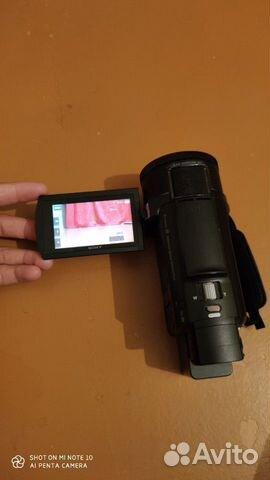 Sony FDR-AX53 4K видео  купить 5