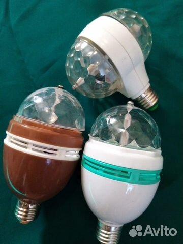 LED лампа для дискотек и вечеринок  купить 1