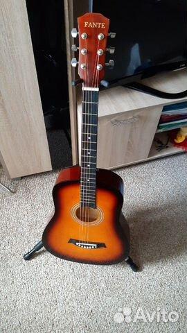 Гитара fante акустическая  89140532851 купить 1