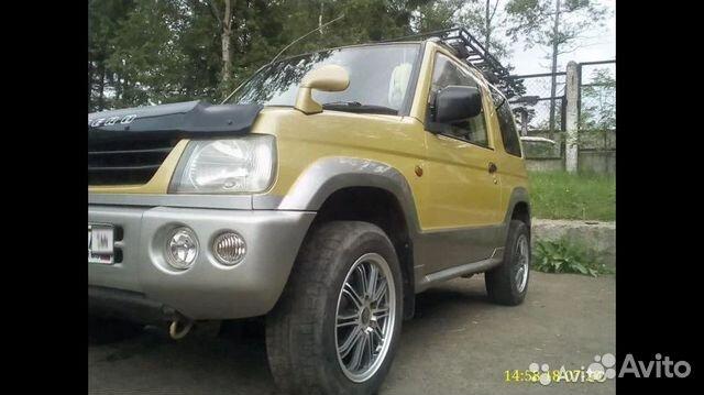 Mitsubishi Pajero Mini, 2000  89842903918 купить 2