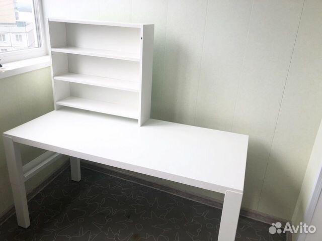 Письменный стол икеа Поль 128х58 см «растущий»  89242273066 купить 1