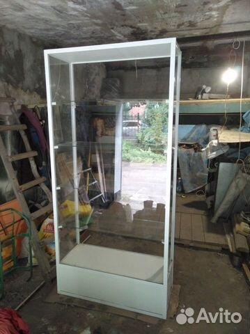 Стеклянный стеллаж (витрина для магазина)  89293686087 купить 2