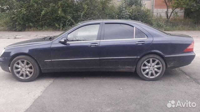 Mercedes-Benz S-класс, 2003  89624908331 купить 1