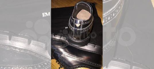 8d855215e4be Мужские ботинки Emporio Armani купить в Москве на Avito — Объявления на сайте  Авито
