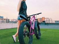Велосипед на больших колесах