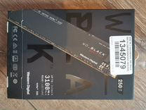 Wd black sn750 250 GB твердотельный накопитель SSD