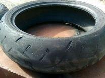 Резина Dunlop на мотоцикл б/у 180/55/17