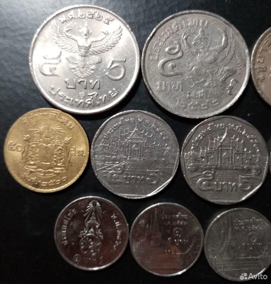 14 монет Таиланда  89965697477 купить 2