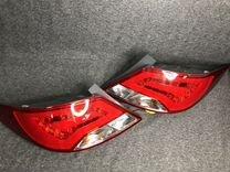Фары оригинал светодиодные ленты hyundai solaris