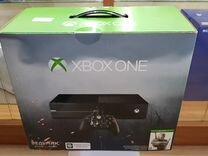 Xbox One 500 Gb. в упаковке, игры в комплекте