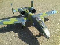 Радиоуправляемый самолет thunderbolt a-10