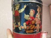 """Банка для конфет """"Красный Октябрь"""" СССР 1958 г"""