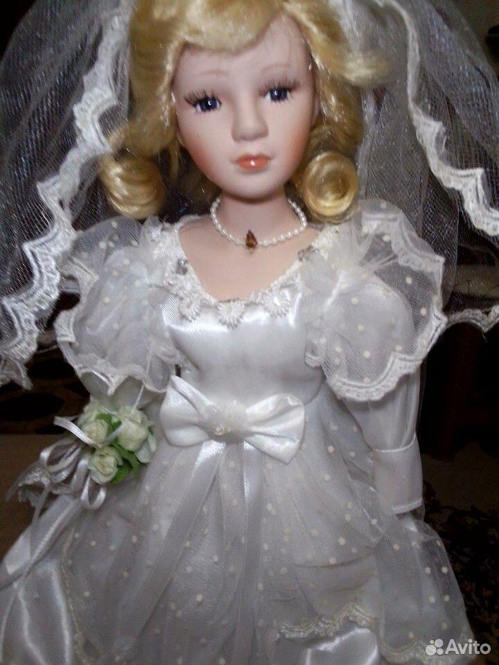 Продам куклу фарфоровая Невеста  89277036161 купить 2