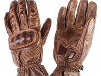 Мото перчатки BY city retro II brown