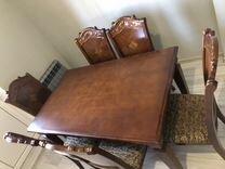 Стол и 6 стульев. Дерево. Малайзия — Мебель и интерьер в Краснодаре
