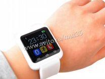 Умные часы smart watch U80 (белые)