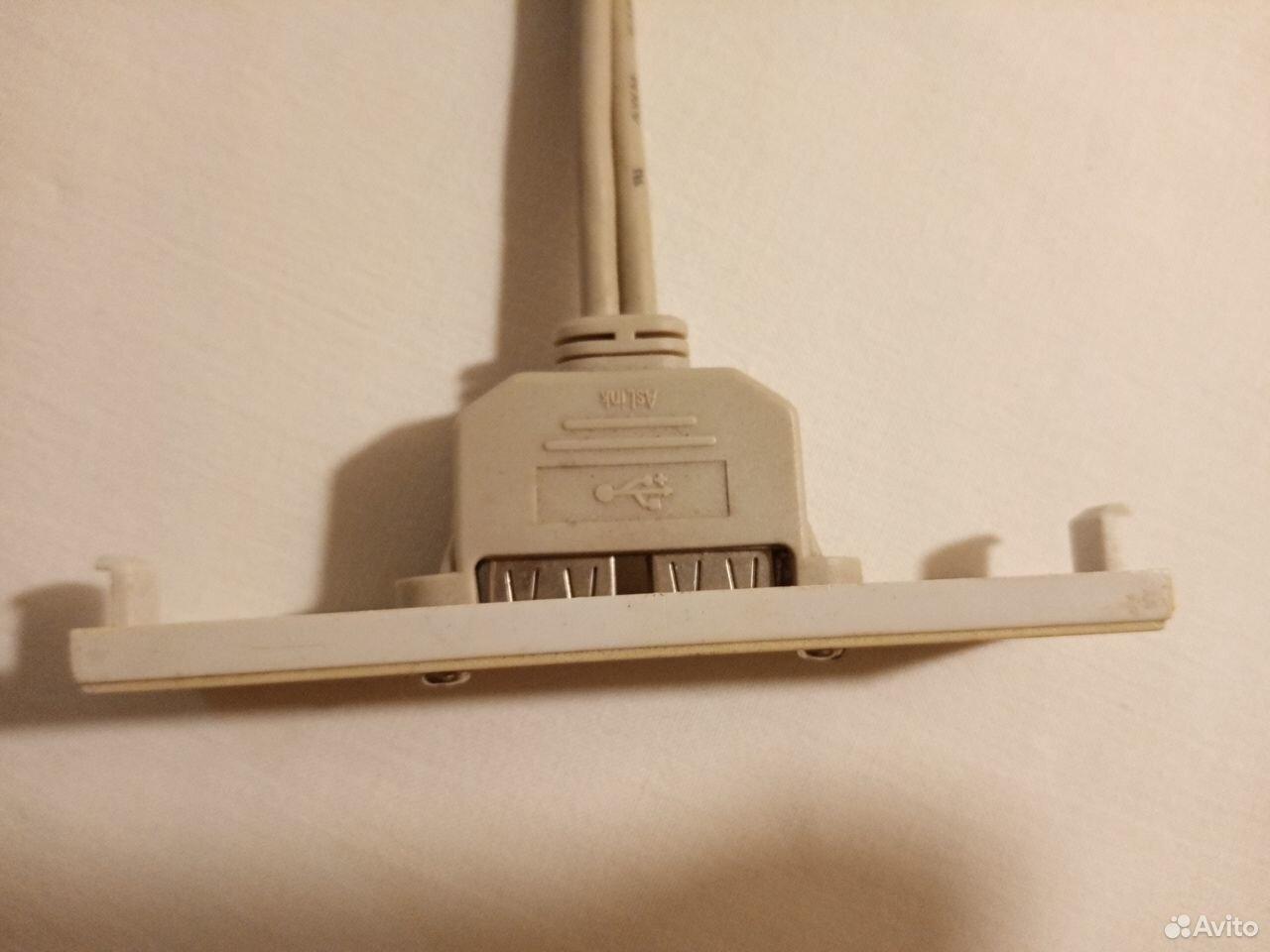 USB выход на переднюю панель