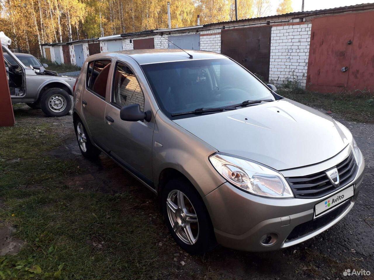Renault Sandero, 2009  89600965960 купить 4
